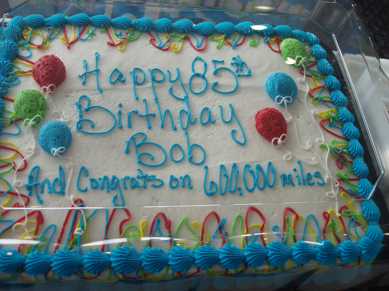 Bob Burns - Happy 85th Birthday and Congrats for 600K Award